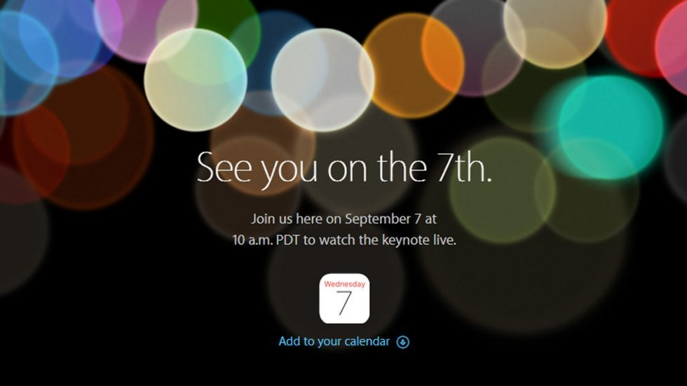 What to expect from Apple's event at September 7th